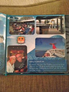 Bahamas Scrapbook