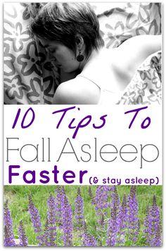 Tips insomnia falling asleep
