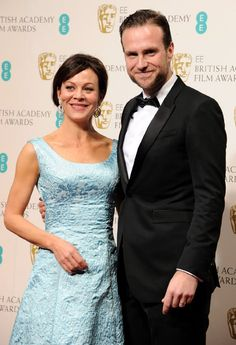 Helen McCrory and Rafe Spall