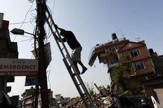 N�pal : le pays frapp� de nouveau par un puissant s�isme