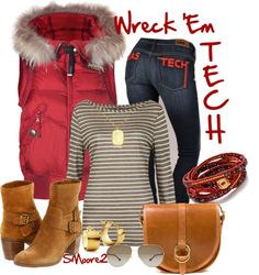 """""""Texas Tech"""" by smoore2 on Polyvore"""