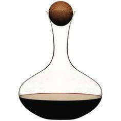 Sagaform Wine/Water Carafe with Oak Stopper