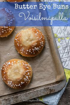 voisilmäpulla - butter eye buns. These Finnish buns are delicious with a cup of tea or coffee.