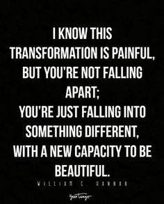 Your heart is just in a transformation period, that's all.