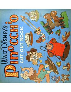 Pinocchio Cut-Out Book