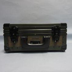 Rimowa Jeep case Hartschalen-Koffer Fotokoffer (61)  Militär grün Metallrahmen
