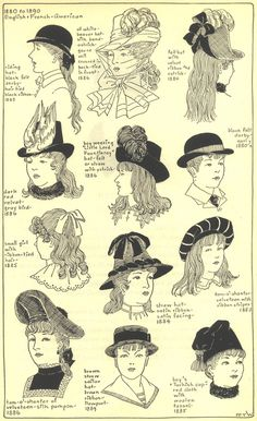 Village Hat Shop Gallery :: Chapter 17 - 1880-1890 :: 263_G