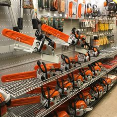 Guess who now carries @stihlusa?! We do at our Concord store! 🙈 Come in and upgrade your equipment and get 15% off accessories to go with your new tool when you buy any power equipment!