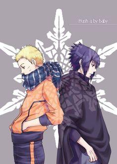 Naruto and Sasuke (The Last)