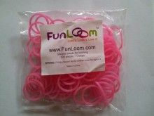 Pink FunLoom Rubber Bands