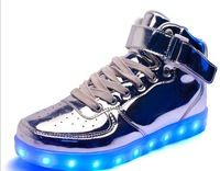 Cheap popular 2016 fashion comfort stylish led light shoes with flashing lights