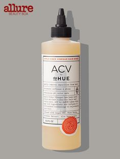 A quick wash with this apple-cider-vinegar-based rinse rids hair of three days' worth of product buildup (and leaves hair shiny and crazy soft). DP Hue ACV, $35 for 8.5 ounces, dphue.com.
