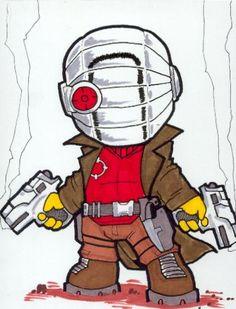 Chibi-Deadshot 2. by hedbonstudios.deviantart.com on @deviantART