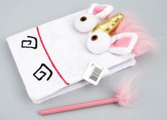 Despicable Me Unicorn Notebook & Fuzzy Pencil Set from Minion Mayhem NEW