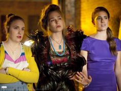 Looking for:  3 people to dress as HBO GIRLS with me this year