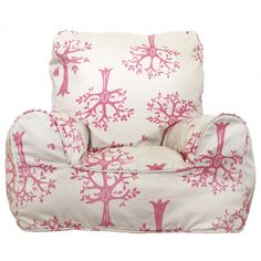 Pink Orchard Chair