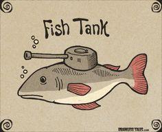 Fish Tank - Brainless Tales