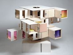 Contemporary Dollhouse | Outside/In, by SHEDKM in collaboration with artist James Ireland, is a ...