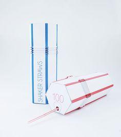 Shake Straw packaging by Nick Seville Cool Packaging, Packaging Design, Branding Design, Inspiration Boards, Straws, Wordpress, Seville, Shake, Soda