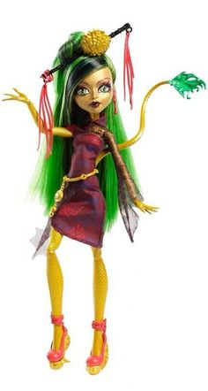 Monster High Doll Jinafire Long: Daughter of the Chinese Dragon.