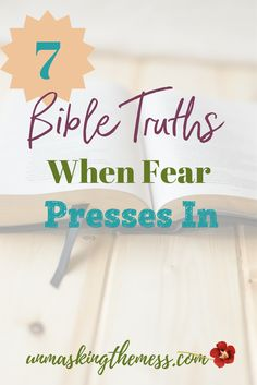 Proverbs 31 woman bible verse/saying/ Bible Truths When Fear Presses In. Facing fear of the unknown or death. How to conquer fear and anxiety using Bible verses, Scripture and God. Verses About Courage, Bible Verses About Stress, Family Bible Verses, Bible Verses About Strength, Best Bible Verses, Bible Verses Quotes Inspirational, Fear Quotes, Bible Quotes, Scriptures
