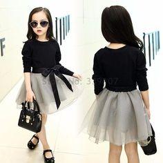 f51d6fdd1e25c Teenage Girls Clothing Sets Tutu Skirt Set 2 pcs 2017 Spring Fall New Kids  Clothes Sets for Children Long Sleeve T-shirt   Skirt