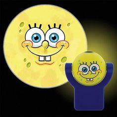 Projectables LED Plug-In Night Light, SpongeBob SquarePants, Yellow
