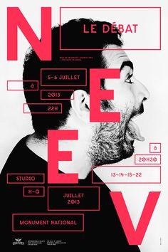 NEEV, THE ETERNAL DEBATE / POSTER SERIES in Poster