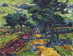 Windiger Tag (Windy Day), 1907 - Karl Schmidt-Rottluff (1884–1976)