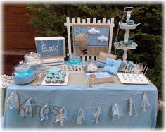 table top wishes – Baby Shower Party Baby Boy Baptism, Baby Christening, Shower Party, Baby Shower Parties, Air Balloon, Balloons, Baby Elephant, Baby Shower Games, Holidays And Events