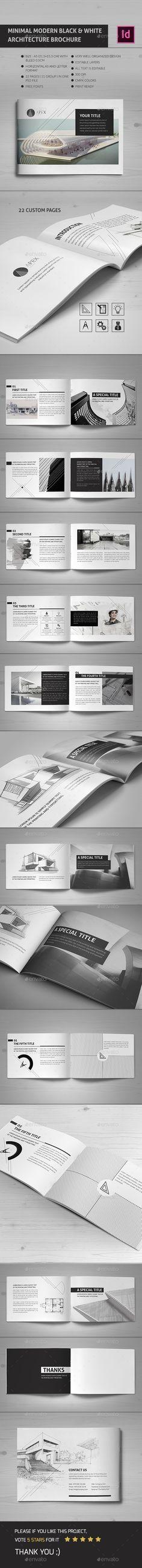 Architecture Portfolio Ii  Architecture Portfolio Brochure