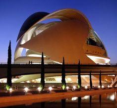 Arquitecto Día: Santiago Calatrava. Ópera de Valencia