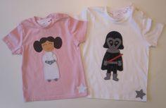 cocodrilova: camisetas starwars a juego para hermanos  #camiseta #starwars