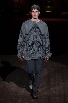 +++ Dolce & Gabbana + Autumn / Fall / Winter 2014 + Men's Collection
