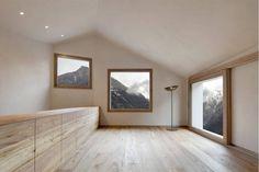 Pedevilla Architects, Bruneck, Wohnhaus am Mühlbach in Taufers, Südtirol, Italien, 2014, Ansicht Innenraum, Foto Gustav Willeit