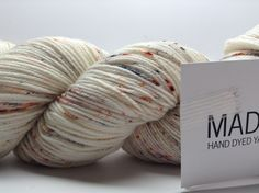 Madelinetosh Twist Light is a springy blend of superwash merino and nylon, creating a bouncy yarn that is perfect for socks, sweaters, or shawls. Twist Light sports a tight twist, perfect for stitch d