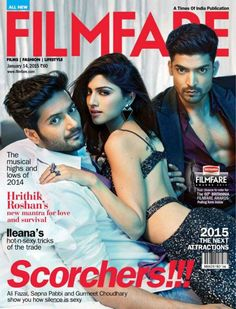 Sapna Pabbi 4 Filmfare #Bollywood #SapnaPabbi #Magazines #Filmfare