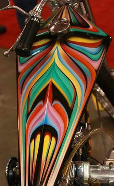 Custom paint