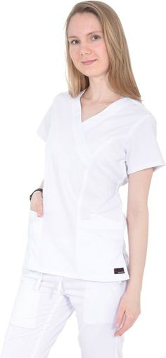 Wonderwink Medical Scrub Red Origins Mock Wrap Top Top Sz XS-XXL NWT