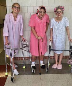 Oma Kostüm für Gruppen selber machen