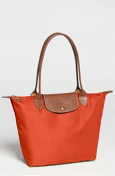 Longchamp  Le Pliage  Medium Shoulder Tote in Indigo available at   Nordstrom Small Shoulder a2b1671bcc