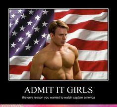 Love Captain America
