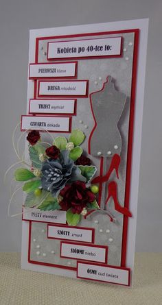 pracownia lilavati: zupełne nie rozumiem... Crafts For Teens, Diy And Crafts, Paper Crafts, 50th Birthday, Birthday Cards, Happy Birthday Pictures, Cowboy Party, Diy Box, Card Tags