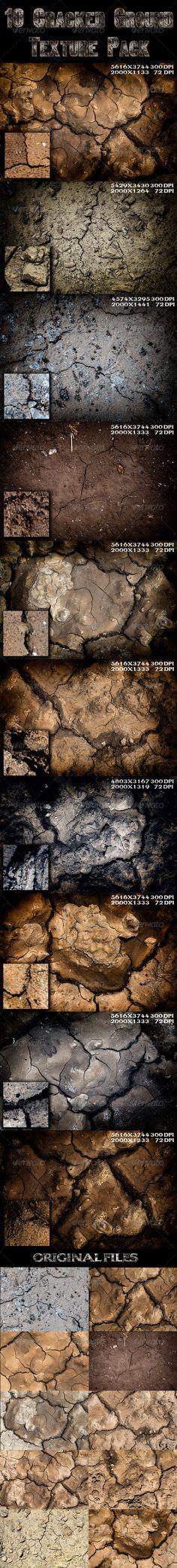 10 Cracked Ground Texture