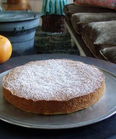 Orange Olive Oil Cake- I think it has a typo in the list of ingredients.  But it looks amazing!