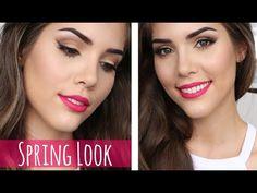Katerina Beauty Blog - Everyday spring makeup and hair tutorial