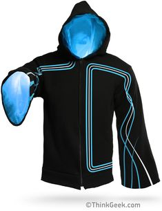 Technomancer Digital Wizard Hoodie from ThinkGeek (I hope this April Fool's product becomes real.)