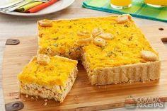 Receita de Torta de frango e milho diferente em receitas de tortas salgadas, veja essa e outras receitas aqui!