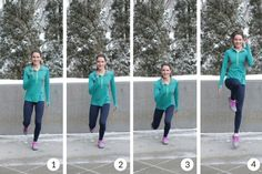 A great leg and core workout! Try lunging Mario jumps in this balance and agility workout!