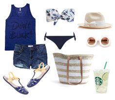 Look para ir a la playa